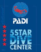 logo padi 5 start dive center