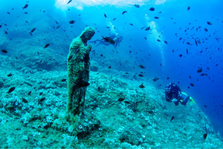 Boat tour and Diving Tour – from Sorrento