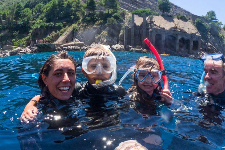 Snorkeling Sorrento - Tour in barca a Sorrento con biologo marino